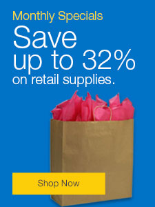 Monthly Specials Save up to 32% on retail supplies.