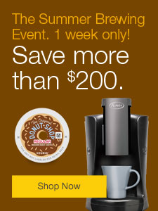 The Summer Brewing Event. 1 week only! Save more than $200.