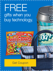 FREE gifts when you buy technology.