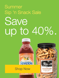 Summer Sip 'n Snack Sale | Save up to 40%.