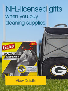 NFL-licensed gifts when you buy cleaning supplies.
