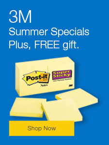 3M Summer Specials Plus, FREE gift.