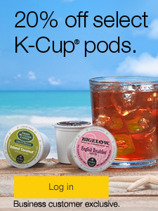 20% off select K-cup® pods.