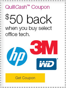 $50 back when you buy select office tech.
