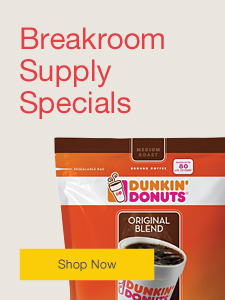 Breakroom Supply Specials