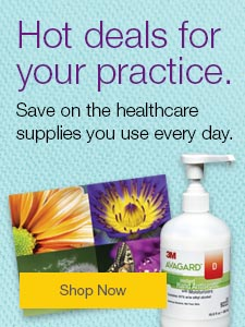 Hot deals for your practice. Save on the healthcare supplies you use every day.