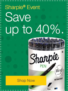 Sharpie® Event Save up to 40%.