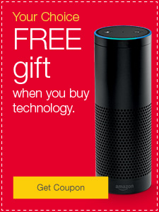 Your Choice. FREE gift when you buy office technology.
