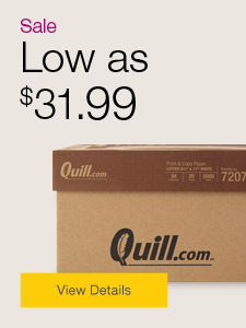 Sale. Low as $31.99 copy paper.