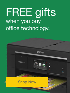 FREE gifts when you buy office technology.