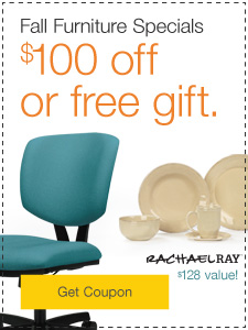 Fall Furniture Specials. $100 off or free gift.