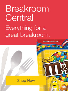 Breakroom Central. Everything for a great breakroom.