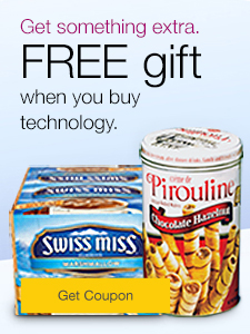 Treat the office.  FREE gifts when you buy office technology.