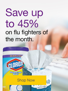 Target germs in your workplace. Save up to 45% on flu fighters of the month.