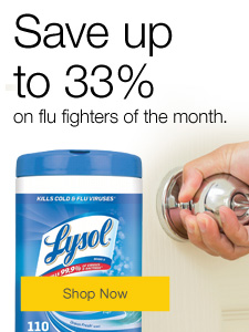 Save up to 33% on flu fighters of the month.