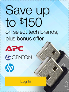 Save up to $150 on select tech brands, plus bonus offer.