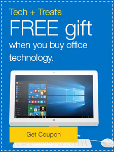 FREE gift when you buy office technology.