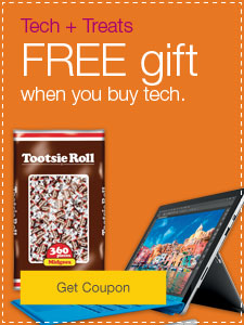 FREE gift  when you buy tech