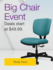 Big Chair Event!  Choose from over 100 starting at $49.99