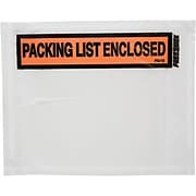 Packing List Envelopes & Tags