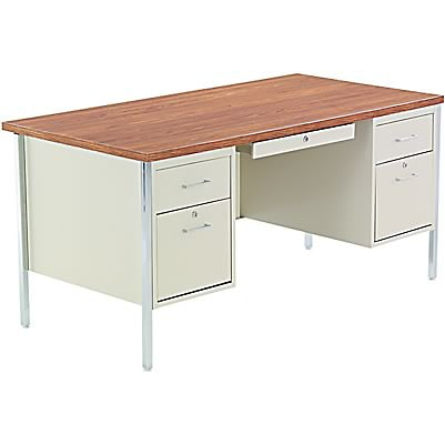 Furniture Gt Office Furniture Gt Oak Desk Gt Chrome Oak Desk