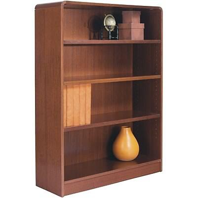 Furniture > Office Furniture > Cabinet > Cherry Corner Bookcase