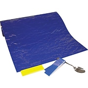 "Dycem(r) Original Panels; 16"" x 1yd., Blue"