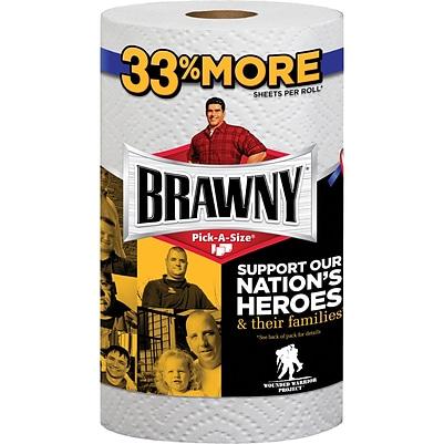 Brawny®. Pick-A-Size 2-ply Paper Towel Rolls