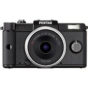 PENTAX Black Digital Camera w/Dual-Lens Kit