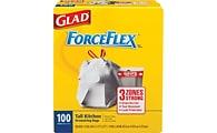 Glad® ForceFlex 13-gallon trash bags