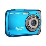 Bell & Howell (r) Splash 8x Digital Zoom Waterproof Digital Camera; 12 Mega Pixels; Blue