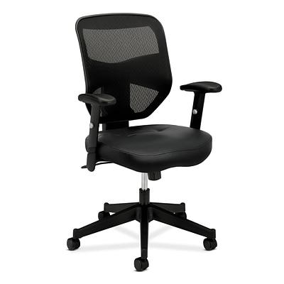 hon prominent mesh high back task chair center tilt adjustable