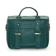 Jill-e Designs (tm) Juliette All Leather DSLR Camera Bag; Teal