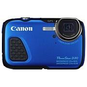 Blue 12.1MP 5x OPTL ZM CMPT Digital Camera