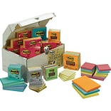 Post-it® Treasure Chest, Assorted Sizes, As...