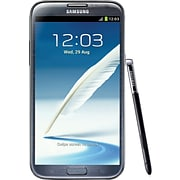Samsung Galaxy Note II 16GB N7100 GSM Unlocked Android Cell Phone; Gray