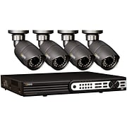 Q-See (tm) QT704-480-1 4 Channel H.264 Video Surveillance System