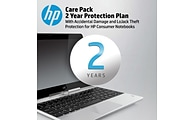 HP® Care Pack for HP® Notebooks; 2-Year Protection with Accidental Damage and LoJack® Theft