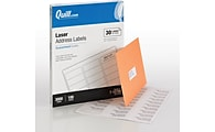 Quill Brand® Laser Address Labels