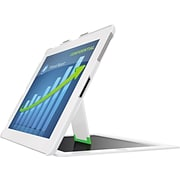 White Landscape iPad Privacy Case w/Stand