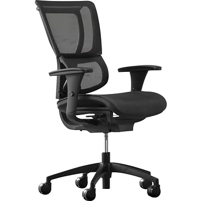 Quill Brand® Professional Series 1500TM Chair, Black, Mesh Seat