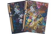 Cynthia Rowley Memo Pad with Pen, Assorted, 2/Pack