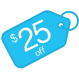 $25 off with $250 order