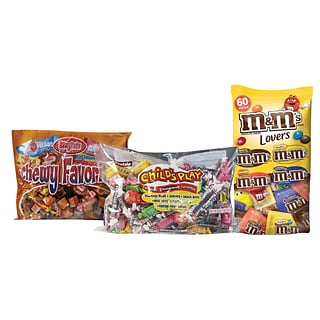 M & M's MIx & Tootsie Mix w $325 order