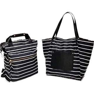 2-pc Tote & Backpack with $325 order