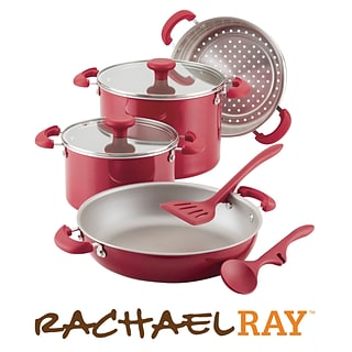 Red 8-pc stacking set with $1500 order