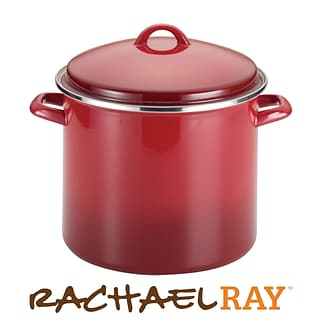 12qt red stockpot with $500 order