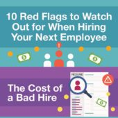 10 red flags to watch out for when hiring your next employee