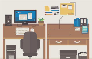 9 Smart Yet Simple Ways To Organize Your Office Quill Com Blog