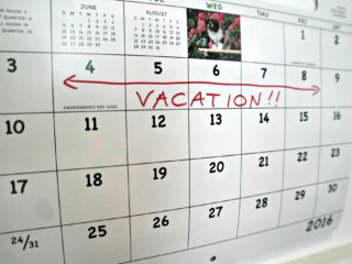 Tips on taking a vacation from work